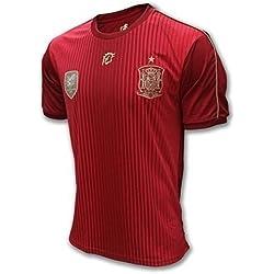 Selección Española. Camiseta Oficial Real Federación Española de Fútbol. Talla M