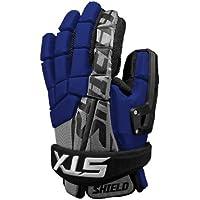 STX Lacrosse Shield Goalie Glove, Royal, 13-Inch by STX