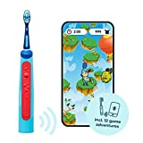 Playbrush Smart Sonic, Smart Electric Toothbrush for Kids with Bluetooth and Interactive Games (Blue)