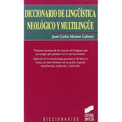 Diccionario De Linguistica Neologico Y Multilingue Pdf