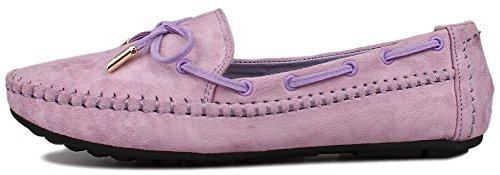 Fangsto  Boat Shoes, Basses femme Violet