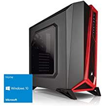 Kiebel Gamer PC Inferno XL [184685] Gaming-PC mit i7 8700K (6x3.7GHz) | 16GB DDR4-2666 | 250GB M.2 SSD + 1TB HDD | Radeon RX 580 8GB | ASUS TUF Z370 Plus Gaming | USB3 | Sound | LAN | Gaming Computer
