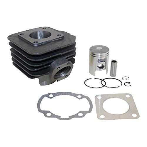 Zylinder Kit, Zylinderkit 50ccm AC, Luftgekühlt für BSV Dio, Honda Dio Shadow, Kymco Curio ZX, DJ, K12, ZX, Superfever 50 (Honda Dio Zx)