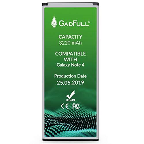 GadFull Batería reemplazo Samsung Galaxy Note 4 |