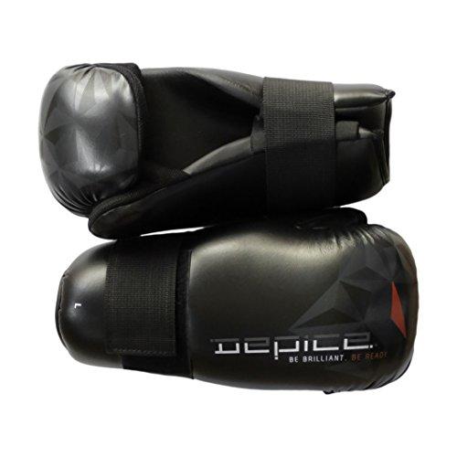 DEPICE Schutzausrüstung Pointfight Open Hand Handschuhe Fastline, Schwarz, One Size, sa-bf Preisvergleich