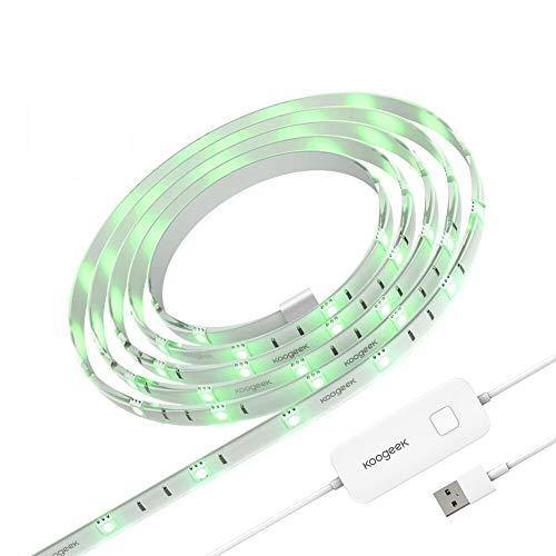 Koogeek Smart Ruban de LED Wifi en Couleurs...