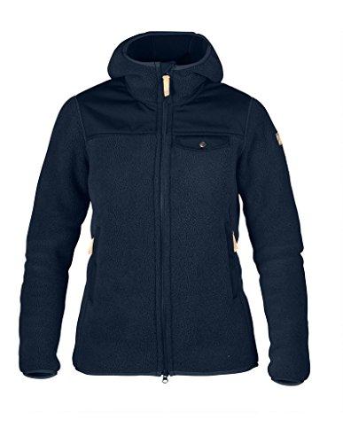 Fjällräven Damen Singi Fleece Hoodie W Pullover & Sweatshirt, Navy, M