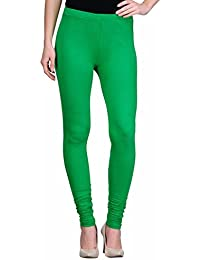 Rooliums ® (Brand Factory Outlet) Women's Premium Cotton Lycra Leggings 160 GSM Light Green (Pack Of 1) - FREE...