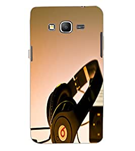 SAMSUNG GALAXY GRAND PRIME HEADPHONE Back Cover by PRINTSWAG