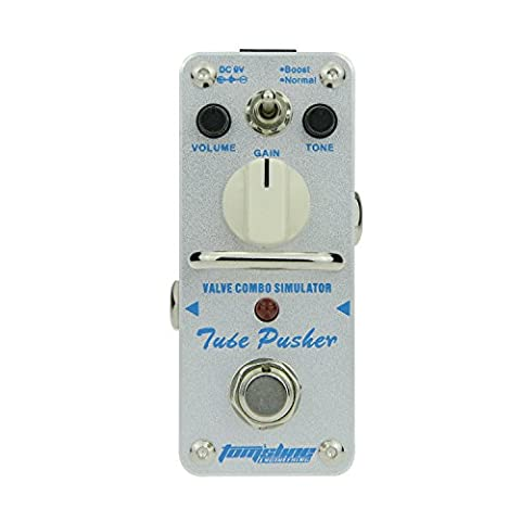 Overdrive Tube Pusher Pédale à effet pour Guitare by Aroma