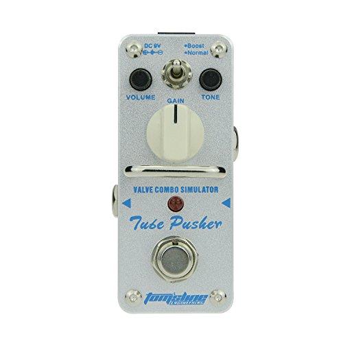 Röhren-combo-amp (Tom'sline Engineering Effekt Gerät TUBE PUSHER ATP-3 Erholung eines klassischen Röhren-Overdrive-Tons aus einem Ventil-Combo-Verstärker Zwei Modi Boost und normales Gitarrenpedal von Aroma Music Marke)