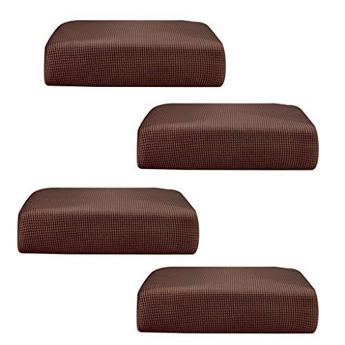 F Fityle 4 Stücke Stücke Stretchy Sofa Futon Sitzbank Kissen Schonbezug Couch Schonbezug Ersatz Gartenmöbel Für 2 Personen Sofa -
