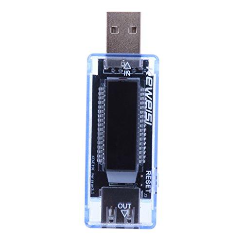 Everpert USB Ladegerät Doctor Kapazität Strom Spannungsprüfer Meter Batterie Tester