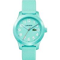 Lacoste Unisex-Child Quartz Watch, Analog Display and Silicone Strap 2030005