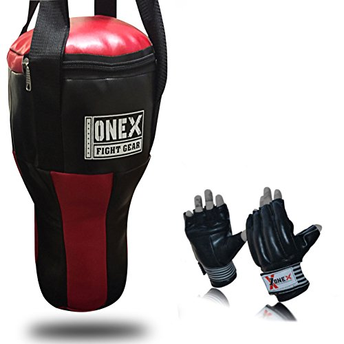 onex-boxing-heavy-filled-punch-bag-angle-body-upper-cut-mma-gloves-muay-thai-pad