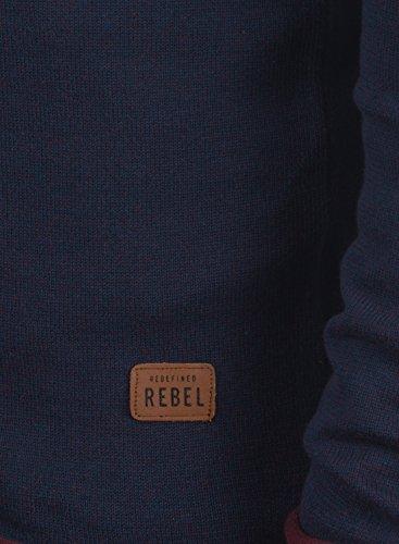 REDEFINED REBEL Maxen Herren Strickjacke Cardigan Navy