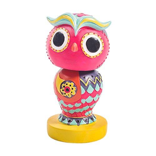 Classic Chumbak Owl Bobble Head Pink