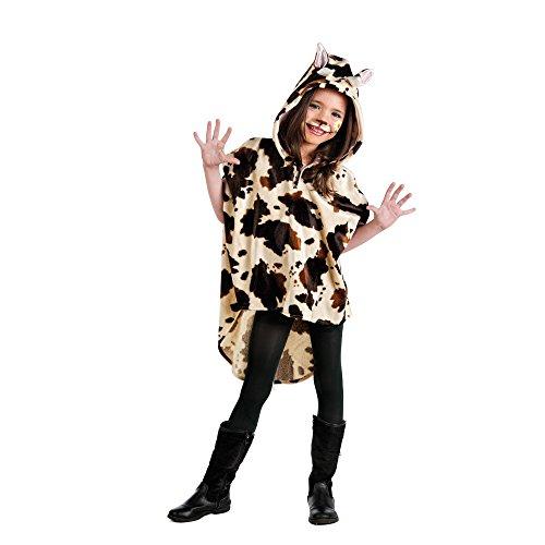 Limit Kinder-Kostüm Poncho Kuh 5-7 Jahre (MI933) NEU
