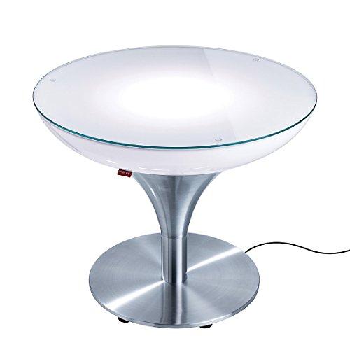 EEC A++, Moree Table basse Lounge M 45 Outdoor - Avec éclairage