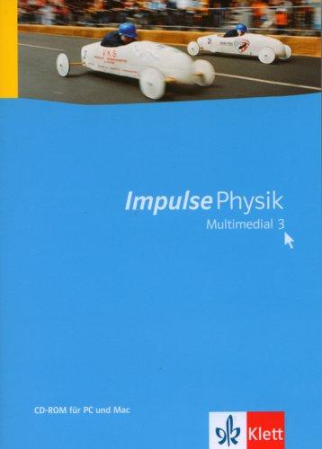 Impulse Physik Multimedial 3, 1 CD-ROM Für Windows 2000 (SP4)/XP Home/Pro (SP2)/Vista oder MacOS X (10.3/10.4). Klasse 7-10. Einzellizenz