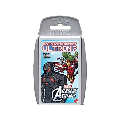 Top Trumps – Avengers : Age of Ultron – Jeu de Bataille Version Anglaise