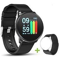 NEEKFOX Orologio Activity Fitness Tracker con Cardiofrequenzimetro da Polso Uomo Donna Bambini Impermeabile Smartwatch Braccialetto da Polso Contapassi Sport per iOS Android Xiaomi Huawei Samsung