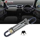 Best Car Locks - AllExtreme Heavy Duty Pedal to Steering Wheel Lock Review