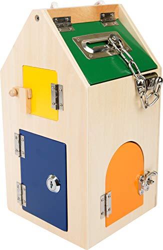 Imagen para Small Foot  4432- Casa de cerraduras educación, método Montessori