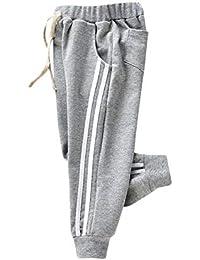 Lunaanco Pantalones a RayasDeporte Niño de Niños Suelto Ropa de Pantalones Bebé Niña Niño Cazadoras Carter