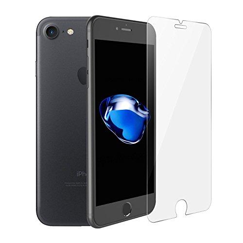 iPhone 7 2.5D von SWISS-QA, Bestes gehärtetes Glas 99% Transparenz, Kratzfestes Glass, Passt mit jeder Hülle, da nur die flachen Stellen des Bildschirms abgedeckt werden - Geld-zurück-Garantie (6 Flower Durch Case Iphone Sehen)
