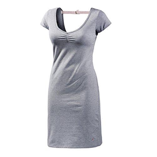 Maui Wowie Damen Kurzarmkleid grau XL