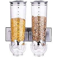 multicolore leyang Hawaii Clip di chiusura dispenser per cereali,dispenser per cornflak 4 pezzi mollette per sacchetti dispenser funzionale per cereali doppio dispenser per cereali