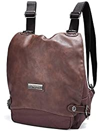 Mochila de Moda,JOSEKO Mujer Lona Bolsa de Mensajero de Hombro de Doble Uso Casual Mochila Shoulder Bag for Ladies