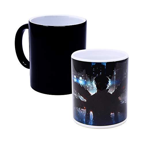 Tokyo Ghoul – Ken Kanek Hitzereagierende Farbwechsel-Kaffeetasse, Keramik, handgefertigt,...