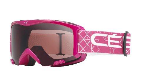 Cébé - BIONIC - Masque de Ski - Mixte Enfant - Rose Foncé - S