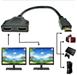 yubohai 1080P HDMI Switch Stecker auf 2 HDMI Buchse 1 in 2 Out