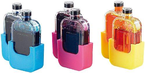 Refill-tinte Color (iColor Zubehör zu Refill-Kit für Canon: Smart-Refill Tintentanks zu VM-1847, color (2x 6ml je Farbe) (Refill-Sets für Canon-Patronen))