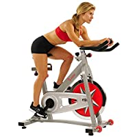 Sunny Health & Fitnees - 40 LB Flywheel Chain Drive Pro Indoor Cycling Exercise Bike
