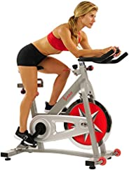 Sunny Health & Fitness Unisex Adult SF-B901 Pro Indoor Cycling Bike - Silver, One