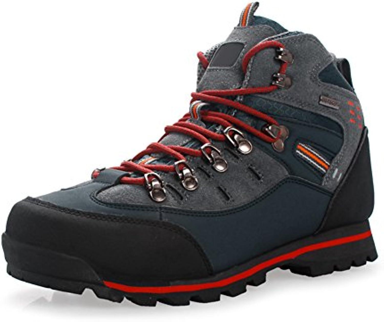 yeshi Herren Outdoor Trekking Wandern Stiefel  wasserdicht  anti rutsch Schuhe