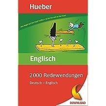 2000 Redewendungen Deutsch – Englisch: EPUB-Download