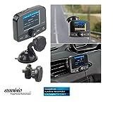 auvisio DAB für Auto: Kfz-DAB+/DAB-Empfänger, FM-Transmitter, Bluetooth, Freisprech-Funktion (DAB Radio Bluetooth Transmitter)
