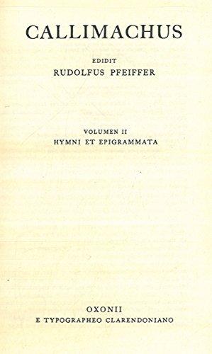 Fragmenta - Hymni et Epigrammata (Vol. I & II].