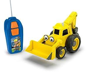 Simba Dickie 203134004Bob el Constructor RC baggi BDB, Amarillo/Gris, 20cm