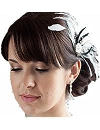 Novia Boda fijo Cristal couture-discount Pasador muelle grandes flores de  joyas cabello flor flores pasador de pelo… 79890009363b