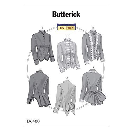 Butterick Patterns Butterick 6400E5Schnittmuster Kostüm, Mehrfarbig, Größen 14-22 (Butterick Patterns Kostüm)