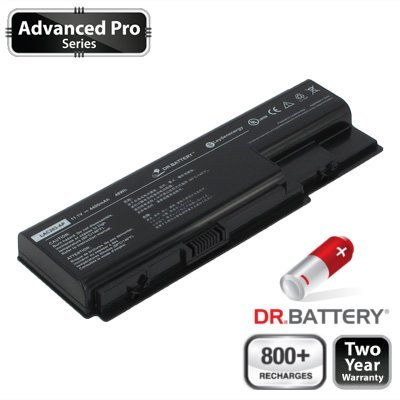 Dr. Battery Advanced Pro Series Notebook Akku für Gateway NV7923u (4400mah / 49wh) 800+ Ladezyklen. 2 Jahr Garantie