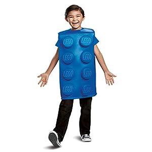 LEGO Building Block Costume da mattoni per bambini Iconic Blue Building Block Bambino 0039897661698 LEGO