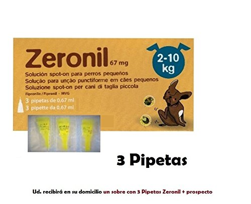3-flea-pipette-dogs-2-10-kg-zeronil-67-mg-anti-flea-and-tick-spot-on-pipette