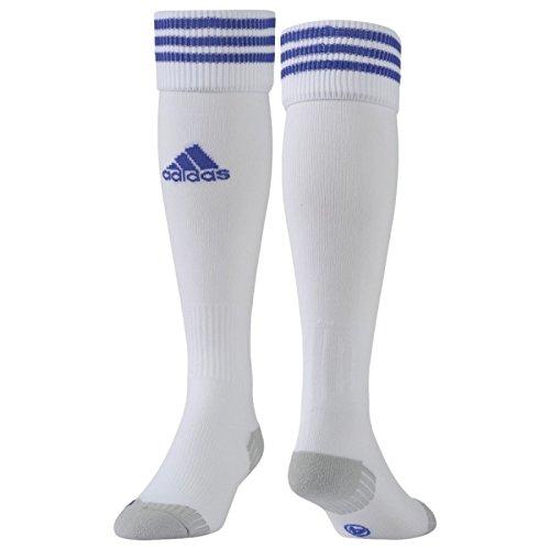 adidas Adisock 12 Medias, Hombre, Blanco / Azul (White / Cobalt), 31-3